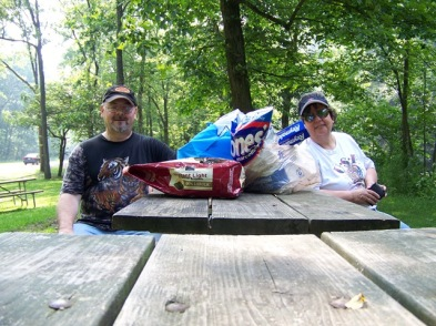 Drenn and Carol at mohican