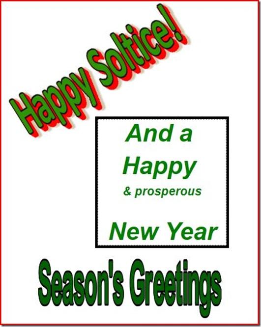 Happy Solstice 2