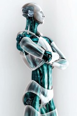 Robot arms folded 2