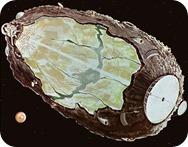 asteroid spaceship
