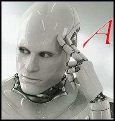 Robot thinking B