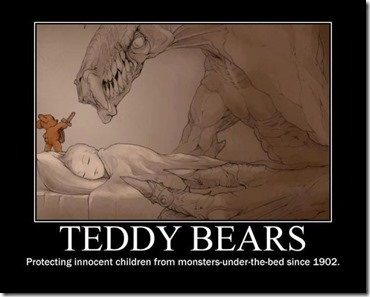 Teddy bear protector