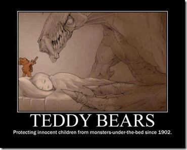 Teddy bear protector